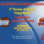 "1° Torneo ""Ciao Ricky"""