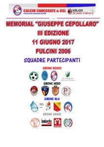Calendario Pulcini 2006.Calendario Torneo Canegrate Pulcini 2006 16squadre Def