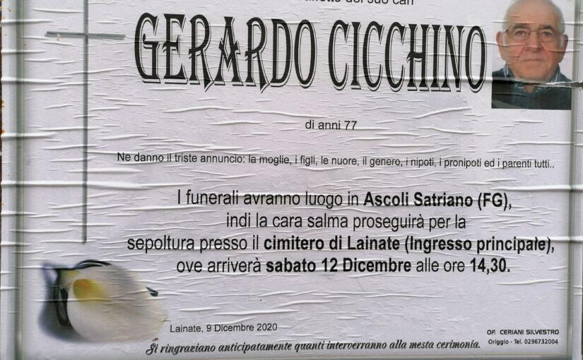 Ricordiamo Gerardo Cicchino